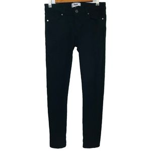 PAIGE Black Skyline Skinny Jeans EUC